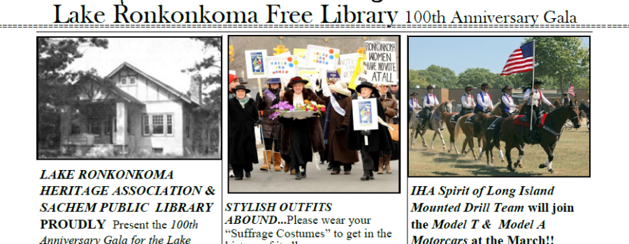 Lake Ronkonkoma Free Library 100th Anniversary Gala